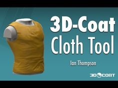 Using the Cloth Tool to create a clothing item. Apologies for the lack of editing and poor audio in this tutorial, I had very little time, so just went for i. 3d Coat, Modeling Tips, 3d Tutorial, Clothing Items, Animation, Cg Art, 3ds Max, Mens Tops, Art Tutorials