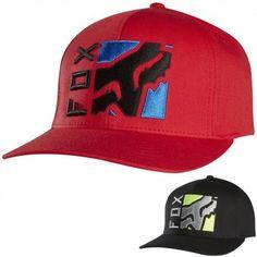 Fox Racing Mens Depth Flexfit Casual Fitted Cap MX Motocross Moto Hat Gorras cf0fcc6215b