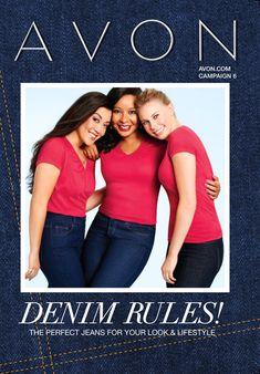 eBrochure | AVON                                                 Check out Avon's denim jeans. Great jeans at great price! #denim #jeans Avon #perfect jeans