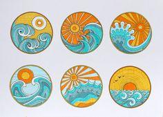 Sun and Waves Combinations by BramboraCzech.deviantart.com on @DeviantArt