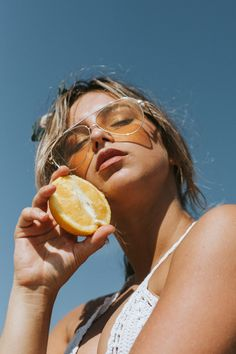 Orange Fashion Editorial | by @kaylammendez