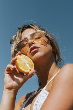 Orange Fashion Editorial   by @kaylammendez