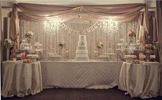Image result for large wedding cakes with surrounding satellite cakes