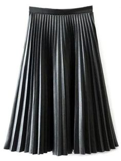 GET $50 NOW | Join RoseGal: Get YOUR $50 NOW!http://m.rosegal.com/skirts/accordion-pleat-pu-leather-skirt-842029.html?seid=7853507rg842029