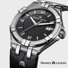 Nur wenige Uhren werden als Ikonen angesehen. Jede Eigenschaft der Aikon steht für vollendeten Luxus, unterstrichen von der hohen Präzision eines Quarzwerks. Die AIKON Ladies 30 mm versprüht pure Femininität, die durch den Komfort eines Quarzwerks unterstrichen wird. Die Schönheit des Edelstahlgehäuses spiegelt sich in einer Auswahl an drei Zifferblattvarianten wider: Silber, Schwarz oder Perlmutt. #watch #productoftheday #uhrenschmuck24 #uhr #mauricelacroix #aikon #BeYourAikon… Komfort, Lady, Omega Watch, Rolex Watches, Accessories, Watch Brands, Luxury, Silver, Black