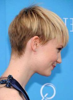Cool back view undercut pixie haircut hairstyle ideas 50