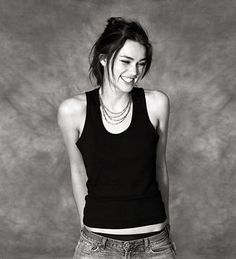 Keira Knightley laughter