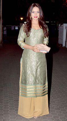 Neetu Chandra at Prithvi Theatre Festival. #Bollywood