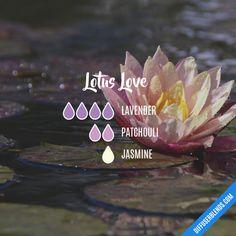 Lotus Love - Essential Oil Diffuser Blend