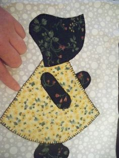 How to make Sunbonnet Sue Blocks