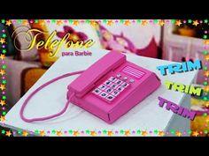 Televisão com Controle Remoto para Barbie DIY - YouTube