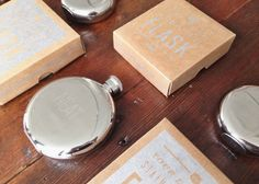 Engraved Stainless Steel flasks at Knack Studios // yeahTHATgreenville