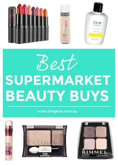 Think you need to spend loads of dollars to get quality beauty products? Nuh uh. We've shared our pick of the best supermarket beauty buys. #TheGlow