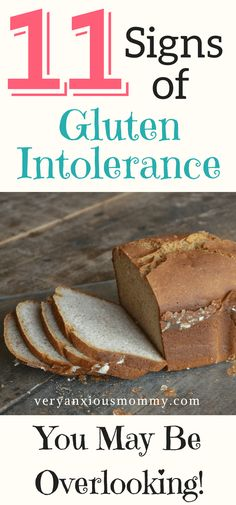11 Signs of gluten i