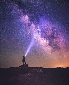 Purple Sky, Night Skies, Northern Lights, Instagram Posts, Artist, Nature, Photography, Travel, Animals