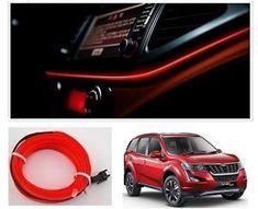 Mahindra XUV 500 2018 Car Dashboard 5M Car Interior Light RED Price-400/- Suzuki Swift, Jetta Car, Volkswagen Jetta, Red Interior Car, Car Accessories List, Car Body Cover, Police Lights, Car Seat Cushion