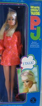 Vintage Toys Talking P. I got her Christmas the year I was in third grade. She spent a day in Mrs. Wrights top desk drawer for talking in class. Barbie I, Vintage Barbie Dolls, Barbie World, Barbie And Ken, Barbie Clothes, Barbie House, My Childhood Memories, Childhood Toys, Buffy