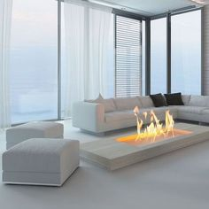 Home Room Design, House Design, Elegant Living Room Design, Glass Table Living Room, Fireplace Design, House Interior, Home Interior Design, Interior Design, Living Room Design Modern