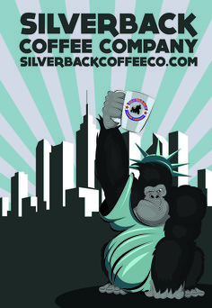 Big Mo in the Big Apple Ny Usa, Coffee Company, Advertising Poster, Apple, Statue, Big, Sculpture, Apples