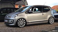 VW Up! Dark Grey BMT
