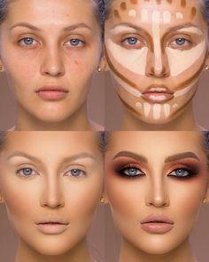 360-Grad-Make-up-Organizer drehen-   Frauen, Schönheit, Make-up, Kosmetik, Make-up Pinsel, Lippenstift, Lidschatten, erröten, Concealer, Stiftung, Textmarker, Kontur, schön   -  #360GradMakeupOrganizer #drehen