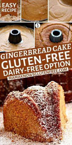 Gluten Free Sweets, Gluten Free Cakes, Gluten Free Cooking, Gluten Free Deserts Easy, Dairy Free Options, Dairy Free Recipes, Keto Recipes, Gluten Free Bundt Cake Recipe, Gluten Free Coffee Cake