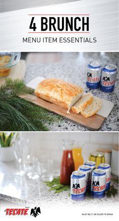 Hosting a Simple, Savory Winter Brunch - Blonde Bedhead Simple Beer Recipe, Brunch Bar, Setting Table, Beer Bread, Beer Cheese, Invite Friends, Beer Recipes, Recipe Inspiration, Menu Items