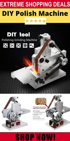 Built-in double bearing, dustproof, non-slip design. Add a word chute to the slave adjustment wheel. Fine accessories, reasonable design and high precision. Diy Jewelry Unique, Diy Jewelry Making, Grinding Machine, Garage Tools, Cnc Machine, Diy Tools, Hobby Tools, Knife Making, Blacksmithing