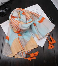 ee7b920daa76 Cheap scarf hijab, Buy Quality scarf cotton directly from China shawl scarf  Suppliers  2017 Women Vintage Autumn Painting Bandana Scarf Hijab Floulard  Shawl ...