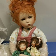 Dolls Ginger Doll with 2 mini dolls Other