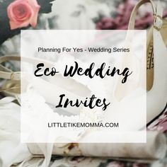 5 Eco Wedding Invites Wedding Invitations, Invites, Big Day, Paper Shopping Bag, Place Card Holders, How To Plan, Sustainability, Invitation Cards, Invitations