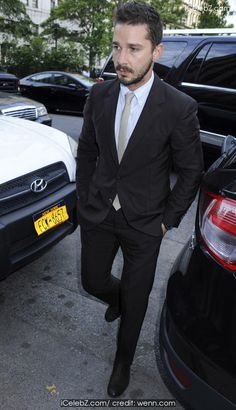 Shia LaBeouf  arrives at Manhattan Criminal Court to answer to charges of criminal trespass, disorderly conduct, and harassment after disturbing a performance of 'Cabaret' at Studio 54 on June 26th 2014 http://icelebz.com/events/shia_labeouf_arrives_at_manhattan_criminal_court_to_answer_to_charges_of_criminal_trespass_disorderly_conduct_and_harassment_after_disturbing_a_performance_of_cabaret_at_studio_54_on_june_26th_2014/photo1.html