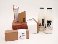 """""""100×100 is a brand dedicated to organic food that seeks to create links between rural producers and urban consumers and tries to improve the quality of the products we consume in our day to day lives."""""""