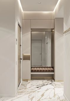 62 Ideas Apartment Door Entrance Entryway Foyers For 2019 Apartment Entrance, Home Entrance Decor, House Entrance, Apartment Interior, Entryway Decor, Design Hall, Flur Design, Home Interior Design, Interior Architecture