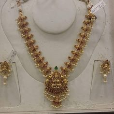 Gold Jewelry Simple, Gold Wedding Jewelry, Gold Jewellery, Bridal Jewelry, Jewelry Necklaces, Gold Necklace, Indian Jewelry Sets, India Jewelry, Gutta Pusalu