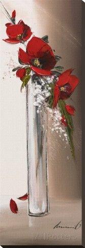 Hauteurs Florales I Reproducción en lienzo de la lámina por Olivier Tramoni en AllPosters.es