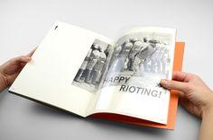 Anarchist Cookbook by Darren Oorloff, via Behance