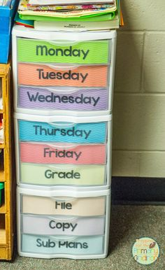 classroom organization tips - helpful hints from my 1st grade classroom #classroomorganization #firstgrade