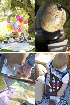 UP! Children photography session! LOVE it! ~ definitely gonna do this someday!