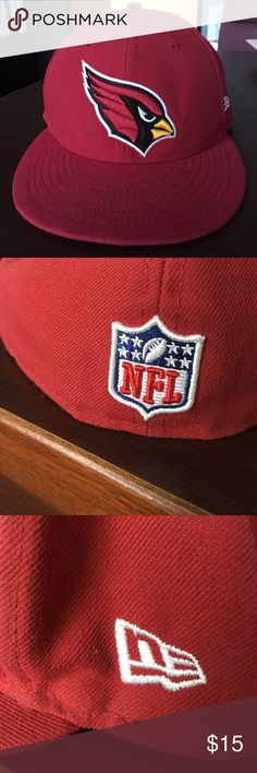 NFL Arizona Cardinals New Era Cap NFL 59Fifty Arizona Cardinals hat. New Era Accessories Hats