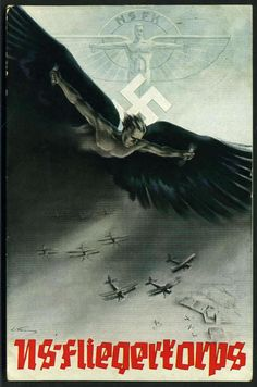 National Socialist Fliegerkorps - 1937 formed from the German Air Sports Association, which had been active while a German air force was outlawed by the Treaty of Versailles. The NSFK had a system of paramilitary ranks and conducted military aviation training with gliders and private aircraft.