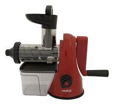 Useful UH-SJ148 Manual Slow Juicer and Wheatgrass Juicer