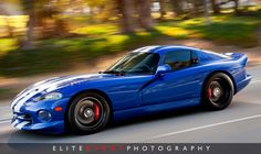 97 Dodge Viper GTS.  Amazingly well kept car...excellent photographer.