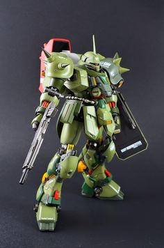 "Custom Build: MG 1/100 Geara Doga ""High Mobility Custom"" - Gundam Kits Collection News and Reviews"
