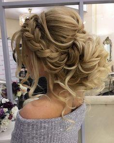 Gorgeous Braided Wedding Hairstyle | fabmood.com #weddinghairstyle #braidedwedding
