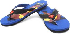 Buy Superman Shield Print Flip Flops