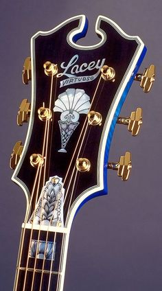 Lacey Guitars Blue Mountain Headstock