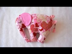 How To Make A Pillow Toy In The Form Of An Elephant - DIY Home Tutorial - Guidecentral - YouTube