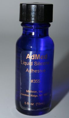 AdMed Glue Pro Medical theatrical appliance liquid adhesive wig clown face body  #Mehron