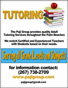 tutor flyer template